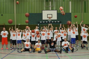 Basketballtraining aus bersee