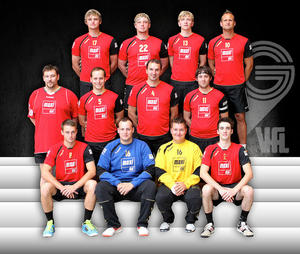 VfL Handball: Mnner 1 - Erstes Spiel....Erster Sieg.....