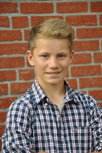 Jugend-Regionsmeister U 14 Kenneth Holsten
