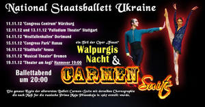 National Staatsballett Ukraine auf Tur 2012