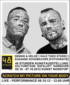 Live Performance face to face - 48 Stunden Kunstausstellung