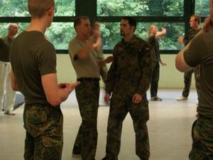 Military Combatives Lehrgang in Fürstenfeldbruck