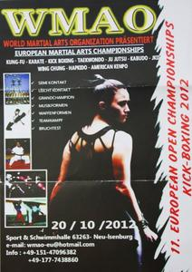 11. European Open Championchips Kick Boxing 2012