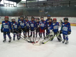 Aller guten Dinge sind 2 / Turnier der Langenhagen Bambini Junior Jets am 14.10.2012
