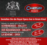KULTUR-HIGHLIGHT: SCHWANENSEE live aus dem Royal Opera House London im CINEPLEX Aichach