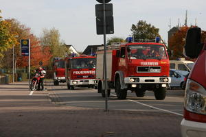 Symbolfoto: TLF 8/18 der Ortsfeuerwehr Schulenburg whrend einer bung
