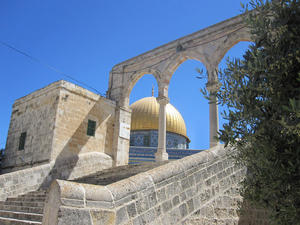 Der Felsendom in Jerusalem - Heiliges Land - Israel