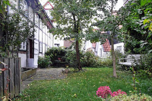 Gartenidyll in der Altstadt von Bad Salzuflen