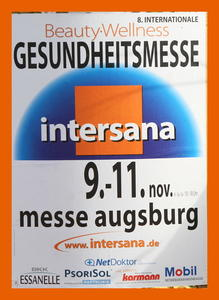 Internationale Gesundheitsmesse Intersana vom 09.-11. November 2012