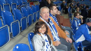 Besuch in der Veltins-Arena F C Schalke 04