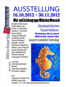28.11.2012 um 19:30 Uhr Stadtbibliothek Mnchen-Moosach, Hanauer Strae 61 A