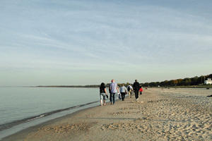 Oktober 2012: Momentaufnahmen vom Sandstrand in Boltenhagen
