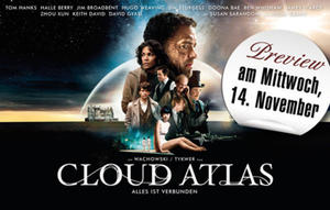 14.11. Preview im Cineplex - CLOUD ATLAS