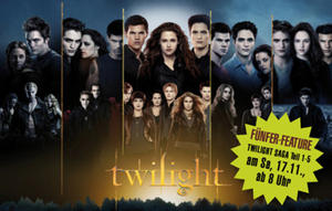 17.11. Fünfer-Feature - TWILIGHT SAGA im Cineplex Memmingen