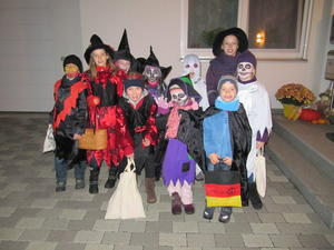 Halloween in der Georg-Elser-Straße