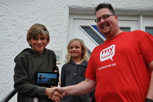 Terminkalender 2013: Yannic Freitag gewinnt Tablet-PC!