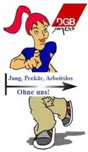 Jung, Prekr, Arbeitslos! Informationsveranstaltung