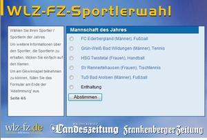 Sportlerwahl des Jahres 2012
