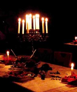 Gourmet-Buffet und Candlelight-Dinner