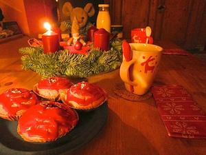 Advent-Muffins mit dem Besten vom Lande