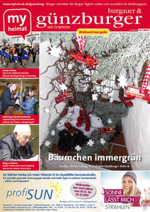 Die Weihnachtsausgabe des gnzburgers hier als E-Paper lesen
