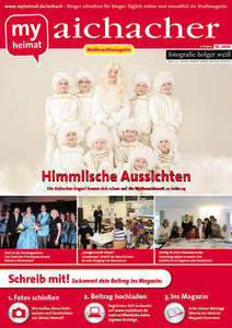 Jetzt neu! Den aichacher 12/2012 hier als E-Paper lesen