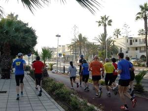 19. Aphrodite Halbmarathon und 5 Kilometer  -  Paphos, Zypern