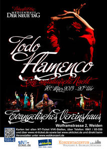 Todo Flamenco - Evang. Vereinshaus Weiden 16.3.2013
