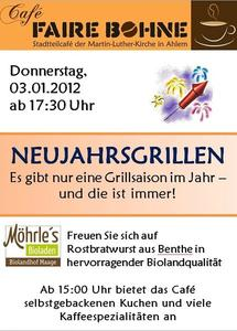 Neujahrgrillen in Ahlem