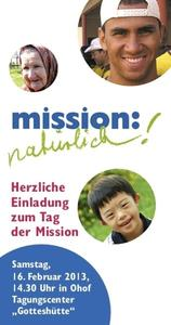 Mission? Natrlich!