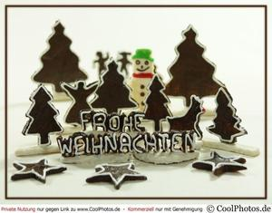 Frohe Weihnachten wnscht die Schachvereinigung Calenberg mit Schachpltzchen