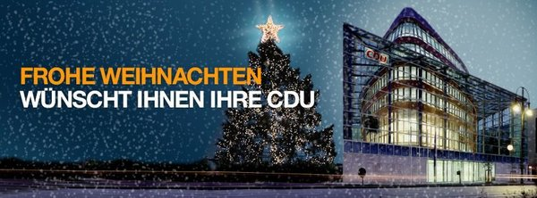 CDU-Laatzen wnscht allen Brgern der Stadt Laatzen ein schnes Weihnachtsfest