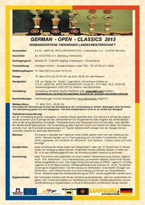 German Open Classics 2013