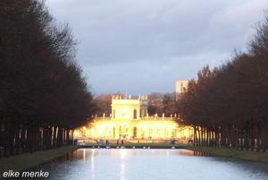 Orangerie im Licht...