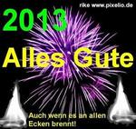 2013: Allen Alles Gute!