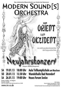 Mit dem Modern Sound[s] Orchestra ins Morgenland...