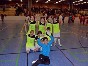 2. Platz fr die E Junioren des FC KNIGSBRUNN beim Hallenturnier des TSV Schwabmnchen am 03.01.2013