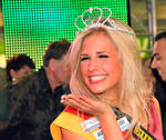 Die  21jhrige Caroline Noeding aus Hannover ist neue Miss Niedersachsen.