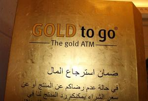 Goldautomat in Dubai- Gold to go