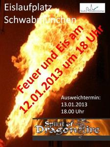 Feuershow bei Feuer und Eis in Schwabmnchen