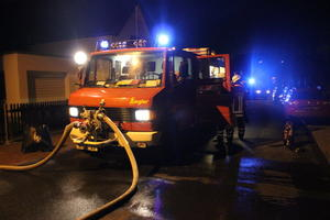 Zimmerbrand in Arnum am 07.01.2013