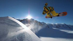 Der ultimative Snowboard - Film in 3D