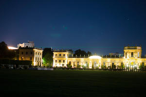 Orangerie Kassel bei Nacht
