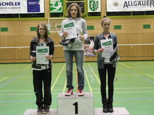 Badminton TSV Nrdlingen: Sieg bei Schwbischer Qualifikationsrangliste