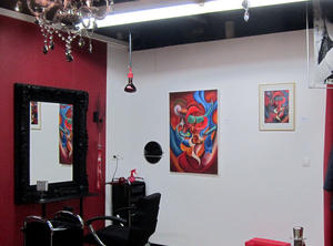 Kunst in Zlatas Salon in Linz am Rhein