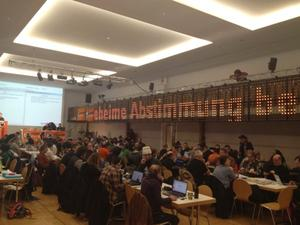 Landesparteitag der Piraten, zwei Tage vollgepackt mit Programm