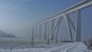 Unstruttalbrcke am 15.1.2013 !