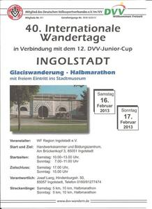 Internationaler Wandertag in Ingolstadt