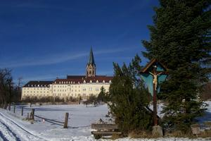 Benediktinerkloster Sankt Ottilien im Winter