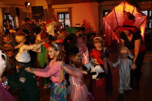 Kinderfaschingsball in der Narrenhalle